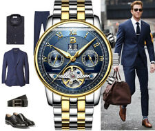 MENS DESIGNER WATCHES FOR MEN TOURBILLON SKELETON MECHANICAL AUTOMATIC WATCH UK