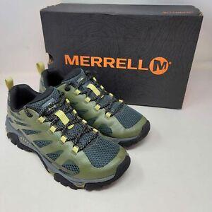 Merrell Moab Edge 2 Mens Hiking Athletic Shoes Olive Drab J48859 Size 7M
