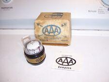 Vintage 70s original AAA club promo automobiles navigation compass auto gm chevy