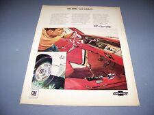 VINTAGE..1967 CHEVELLE SS 396.. COLOR SALES ADS...RARE! (580M)