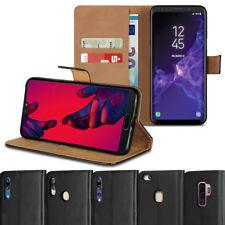 Leder Handyhülle Smartphone Schutzhülle Tasche Flip Case Book Cover Handy Etui