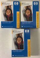 HP Advanced Glossy 4x6 Inch Inkjet Photo Paper 66lb. 300 Sheets Sealed Q7906A