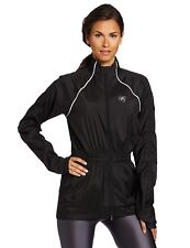 Asics AY Rouche Jacket, Performance Black, Sz Sm New With Tag's MSRP $105