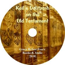 Keil & Delitzsch Christian Bible Commentary PDF eBook on CD for iPad PC Droid