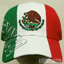 DELUXE EAGLE MEXICO MEXICAN PRIDE COUNTRY FLAG FIFA WORLD OLYMPIC TEAM CAP HAT
