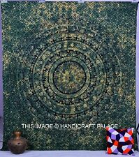 Elephant Star Mandala Throw Indian Bedspread Queen Tapestry Wall Hanging Hippie