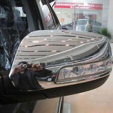 For Kia Sorento 2013-2015 Chrome Side Rearview Mirror Wing Back Mirror Cover