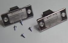 2x Kennzeichenleuchte für VW Golf V Passat Tiguan Touareg Kennzeichenbeleuchtung