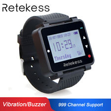 Watch Pager Receiver 433MHz LCD Screen for Retekess Wireless Calling System hot