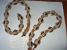 Prisoner Beaded Snake Necklaces Two First World War Turkish