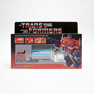 Transformers Golden Optimus Prime Action Figure Christmas Gift Toy Birthday G1