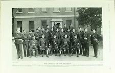 1902 PRINT CANADIAN VOLUNTEER MILITIA OFFICERS OF REGIMENT NAMED