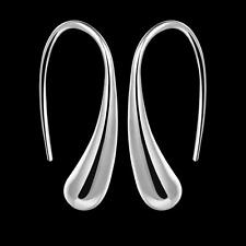 Wholesale 925 Silver Filled Drop Water Earrings Women Fashion Jewelry Party Gift