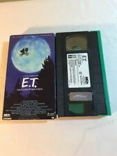 E.T. The Extra-Terrestrial (VHS 1988) GREEN BLACK EDITION RARE HTF