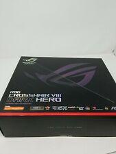 (NO RESERVE) ASUS ROG Crosshair VIII Hero AMD X570 ATX Motherboard