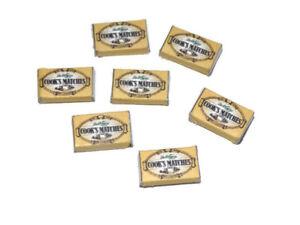 Dolls house Miniature Cooks Matches box-shop accessories- 1:12 scale
