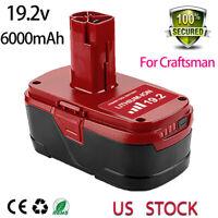 19.2v 6.0AH for Craftsman C3 Lithium-Ion Diehard XCP BATTERY 11375 PP2030 PP2011