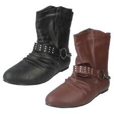 Stivali e stivaletti da donna sintetici da infilare piatto ( meno di 1,3 cm )