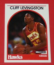 # 22 CLIFF LEVINGSTON ATLANTA HAWKS 1989 NBA HOOPS BASKETBALL CARD