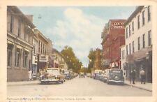 Amherstburg Ontario~Dalhousie Street~Campbell's Cafe~Shoe Repair~Law Office~1952