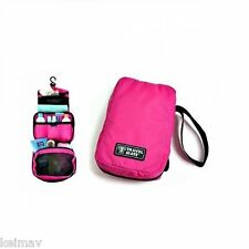 Travel Mate Toiletry Kit Bag Organizer (Pink)