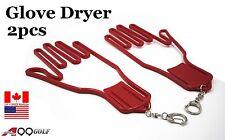 Durable Outdoor Sport Golf Gloves Glove Stretcher Shaper Extend Red Chain 2pcs