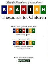 Libro de sinónimos y antónimos para niños