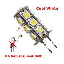 Tower Type G4 LED Replacement Bulb Cool White Caravan/RV/Cabinet/Boat/Truck Lamp