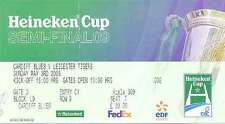 CARDIFF BLUES v LEICESTER 3 May 2009 EURO CUP SEMI-FINAL RUGBY TICKET, CARDIFF
