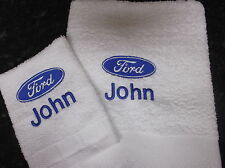 PERSONALISED FORD BADGE TOWEL SET