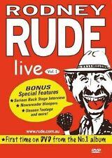 Rodney Rude - Rude Rude Rodney Rude : LIVE  Volume 1 (DVD, 2004) rare Region 4