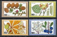 Berlin  607 - 610 postfris motief flora