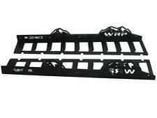 WRP Mountain Tuff Boards 2005-07 Arctic Cat M Series, Black Powder Coat