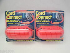 Two (2) Farm Innovators Cord Connect Water Tight Connection USA CC1 Free Ship