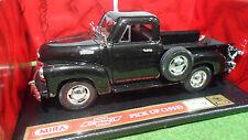 CHEVROLET Pick Up 1953 noir au 1/18 de MIRA 6202 voiture miniature de collection