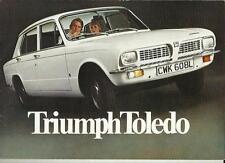 TRIUMPH TOLEDO SALES BROCHURE  APRIL 1974