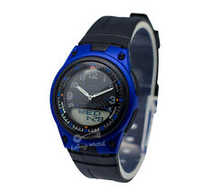 -Casio AW80-2B Dual Time Watch Brand New & 100% Authentic