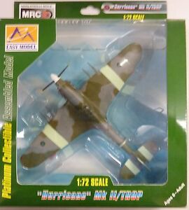 Easy Model MRC 1/72 Hurricane MKII Trop India WWII  1944 Builtup Model 37270