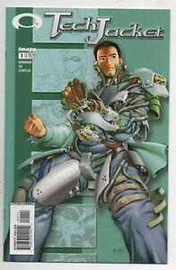 Tech Jacket #1 Image Comic 2002 Kirkman Invincible Preview VF-NM