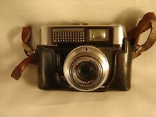 Voigtlander Vito Automatic R 35mm Film Camera w/ Lanthar 50mm F2.8 Lens As Is