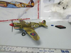 GMP Military 1/35 Diecast Kittyhawk I AK578 No.112 Squadron w/ Box