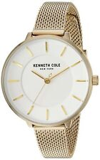 Kenneth Cole New York Women's Quartz Stainless Steel Gold Tone Watch KC50744003