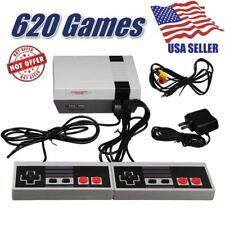 USA Mini Vintage Retro TV Game Console Classic 620 Built-in Games+ 2 Controllers
