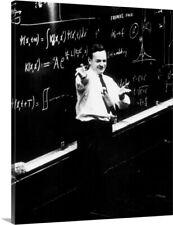 Richard P. Feynman (1918-1988) physicist Canvas Art Print