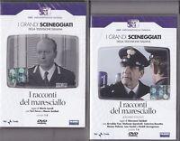 4 Dvd Sceneggiati Rai I RACCONTI DEL MARESCIALLO ~ Serie 01 1968 + Serie 02 1984