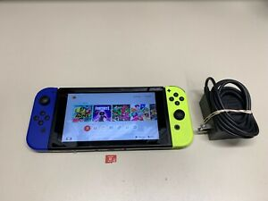 Nintendo Switch 32GB Video Game Console HAC-001 W/ Joycons microSD & Charger