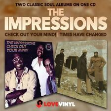The Impressions - Check Out Your Mind!/Times Have Changed  new cd