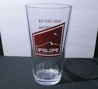 Upslope Brewing Company - Pint Beer Glass Boulder, Colorado Collectible Glass