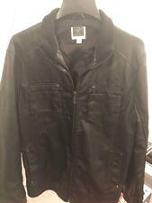 INC International Leather Jacket Size Large Men