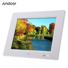 """ANDOER 8"""" HD LCD DIGITAL PHOTO FRAME PICTURE ALBUM MP4 VIDEO MOVIE PLAYER REMOTE"""